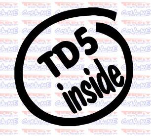 Autocolante - TD5 Inside