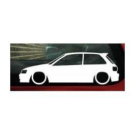 Autocolante - Toyota Starlet