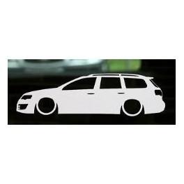 Autocolante - Volkswagen Passat B6 Variant