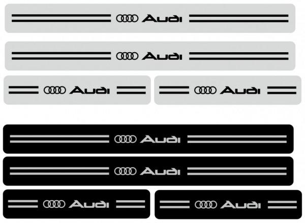 Imagens Autocolantes para Soleiras estilo Audi