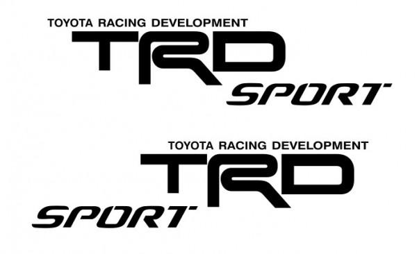 Imagens Autocolantes - TRD Sport (toyota)