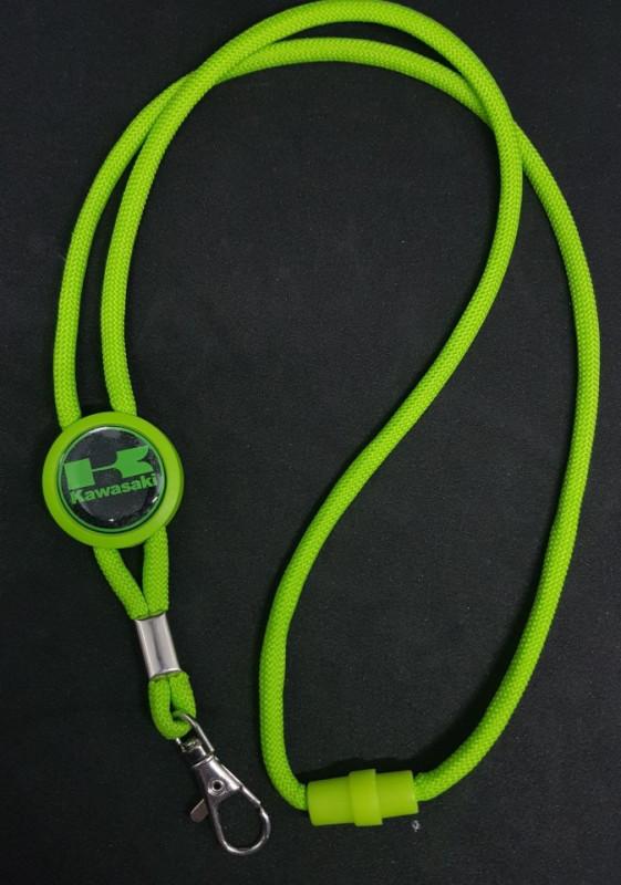 Fita Porta Chaves (lanyard) de Pescoço Ajustável para Kawasaki