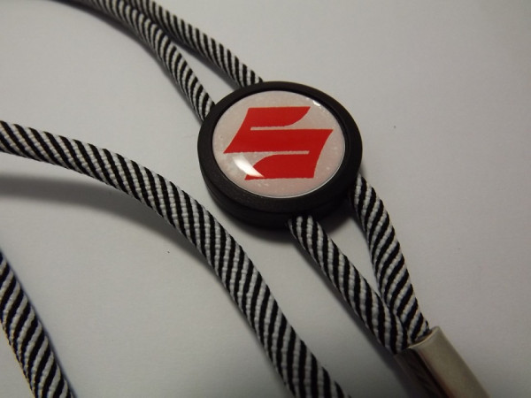 Imagens Fita Porta Chaves (lanyard) de Pescoço Ajustável para Suzuki