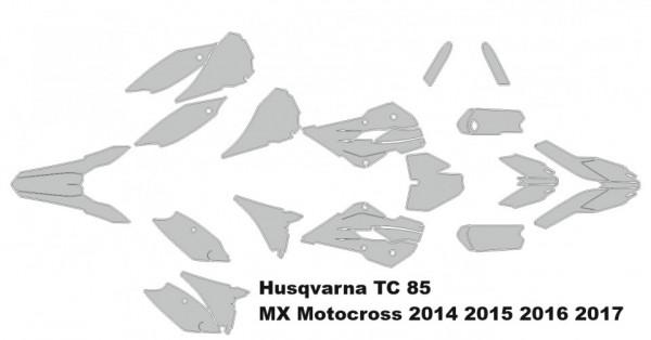 Husqvarna TC 85 MX Motocross 2014 2015 2016 2017