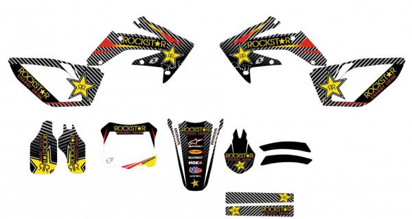 Kit Autocolantes Para HONDA CRF 250 04-08