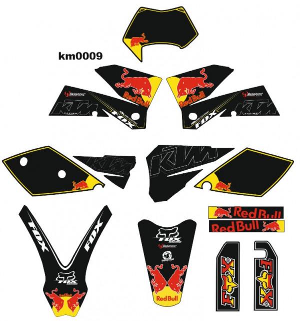 Kit Autocolantes Para KTM EXC XC XFC 04-07