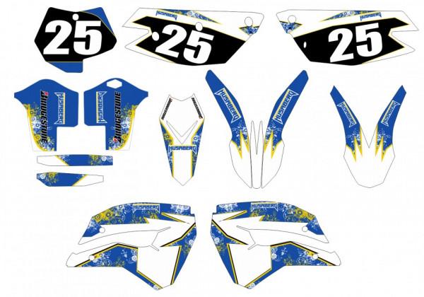 Kit Autocolantes Para Moto - Husaberg FE 390 450 509