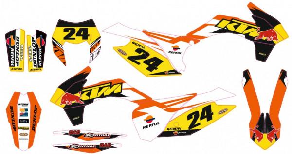 Imagens Kit Autocolantes Para Moto  - KTM EXC / XC / XCF 14-16