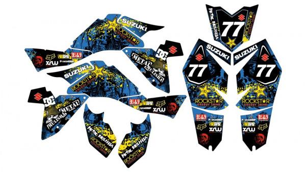 Kit Autocolantes Para Moto - Suzuki LTZ 400 k9 07-16