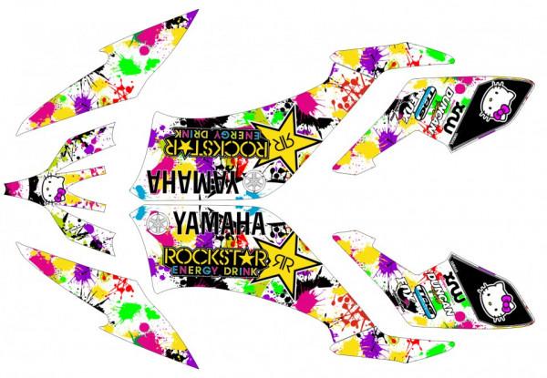Imagens Kit Autocolantes Para Moto - Yamaha yfm 250 Raptor