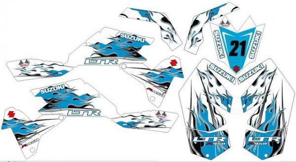 Imagens Kit Autocolantes Para Suzuki LTR 450