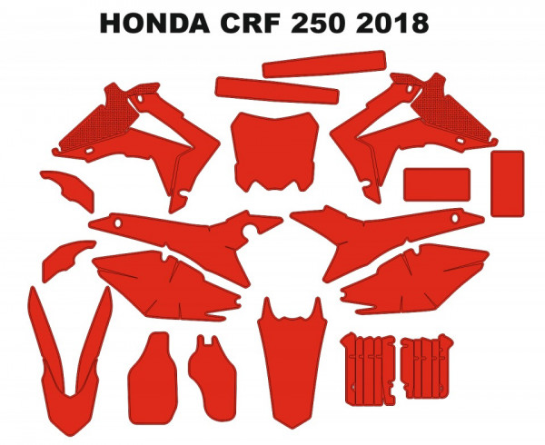 Molde - HONDA CRF 250L 2018