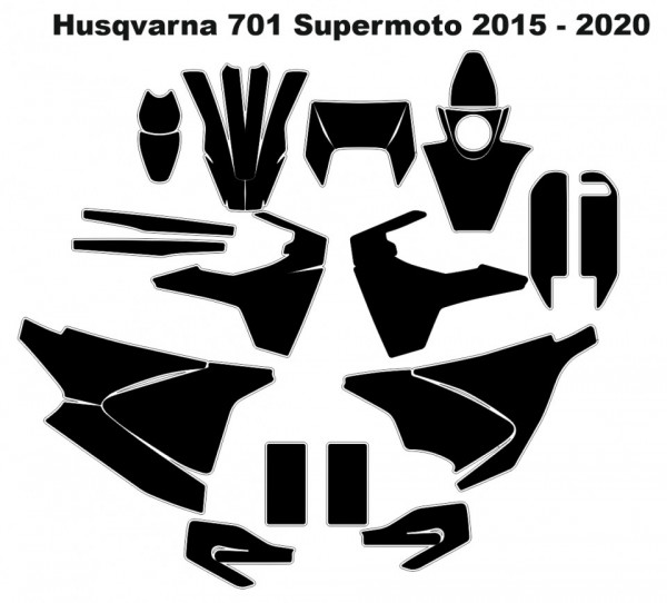 Imagens Molde - Husqvarna 701 Supermoto 2015 - 2020