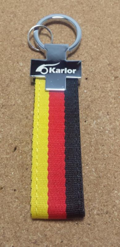 Porta Chaves com as cores a bandeira Alemanha