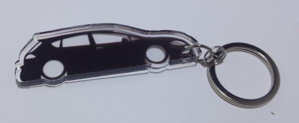 Porta Chaves de Acrílico com silhueta de Seat Leon 1P