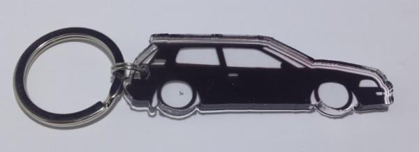 Porta Chaves de Acrílico com silhueta de Toyota corolla E90