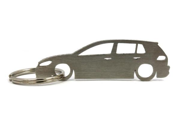 Porta Chaves em inox com silhueta com Volkswagen Golf MK7 5P