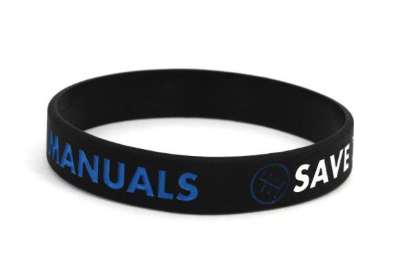 Pulseira para Save The Manuals Preto