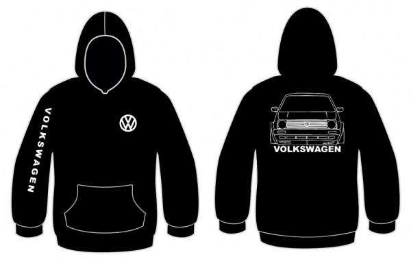 Imagens Sweatshirt com capuz para Volkswagen Golf 2
