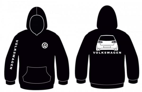 Imagens Sweatshirt com capuz para VW Golf 6
