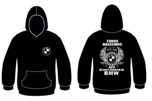 Imagens Sweatshirt com capuz Todos Nascemos (BMW)