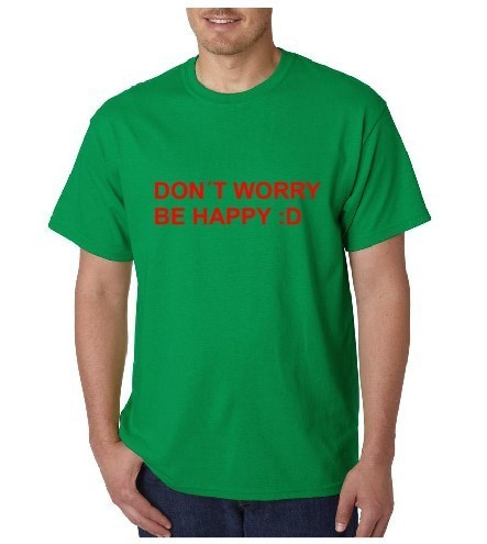 Imagens T-shirt  - Don't Worry Be Happy