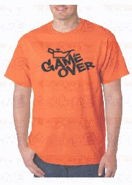 Imagens T-shirt  -Game Over