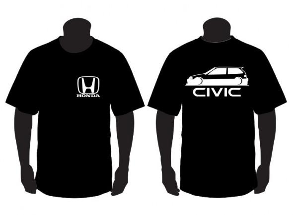 Imagens T-shirt para Honda Civic EF