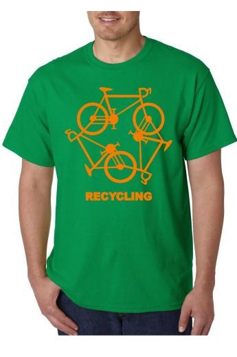 Imagens T-shirt  - RECYCLING