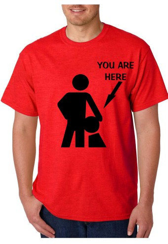 Imagens T-shirt  - YOU ARE HERE