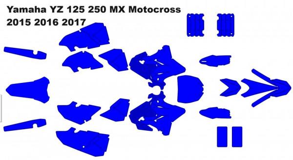 Yamaha YZ 125 250 MX Motocross 2015 2016 2017