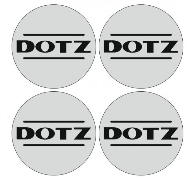 4 Autocolantes Para Centros de Jantes para Dotz