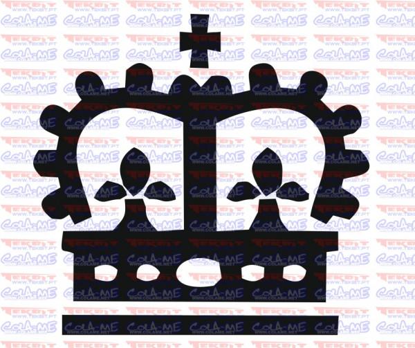 Autocolante - Coroa 2