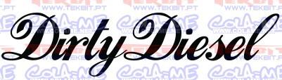 Autocolante - Dirty Diesel