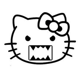 Autocolante -  Domo / Hello Kitty