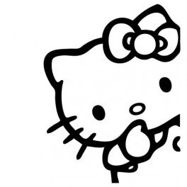 Autocolante - Hello Kitty 9