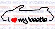 Imagens Autocolante - I Love My Beetle