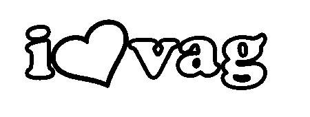 Autocolante - I love Vag
