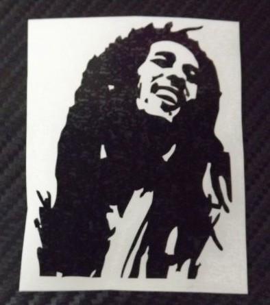 Autocolante Música - Bob Marley