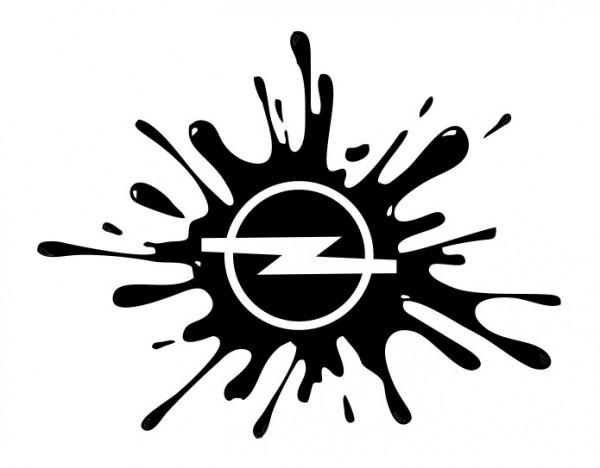 Autocolante - Opel Splash