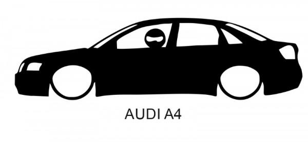 Autocolante para Audi A4 Com Stig