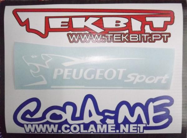 Autocolante - Peugeot Sport