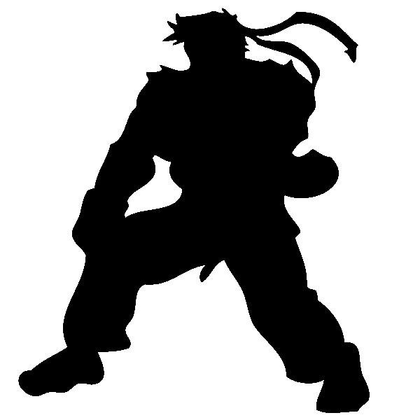 Autocolante - Ryu Street Fighter