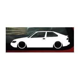 Autocolante - Saab 93