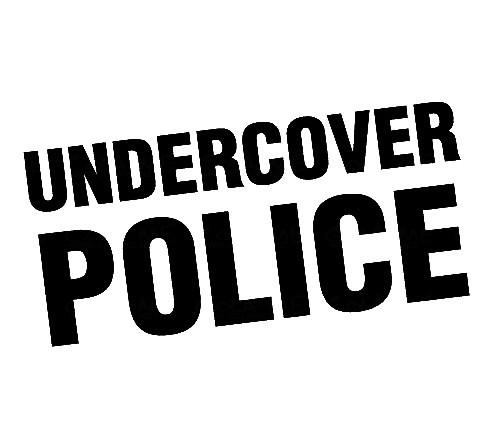 Imagens Autocolante - Undercover Police