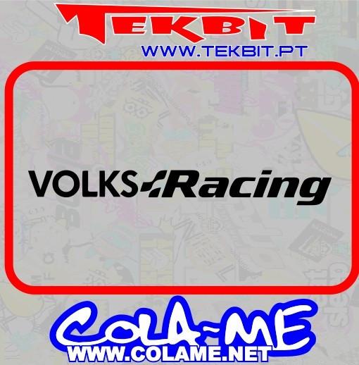 Autocolante - Volks Racing