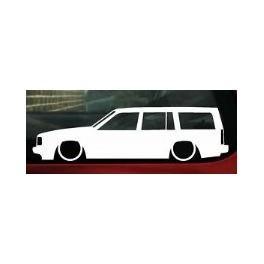 Autocolante - Volvo 740 Carrinha