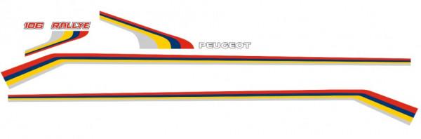 Imagens Autocolantes - Peugeot 106 Rallye