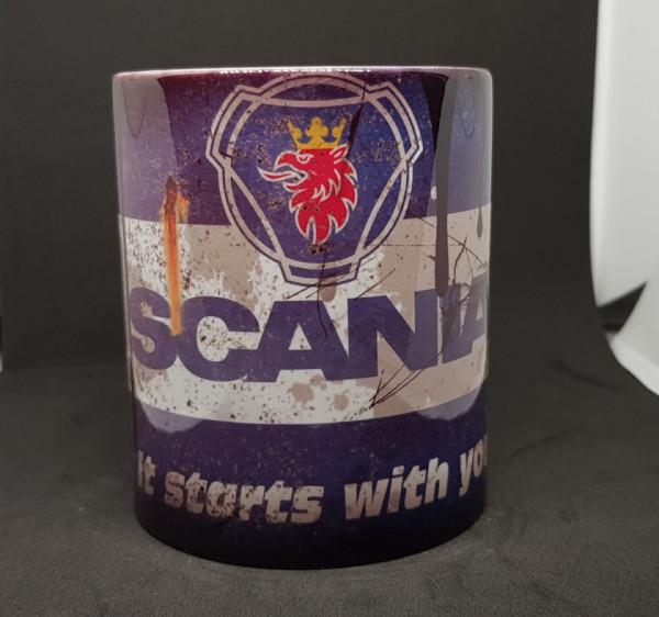 Imagens Caneca com Scania