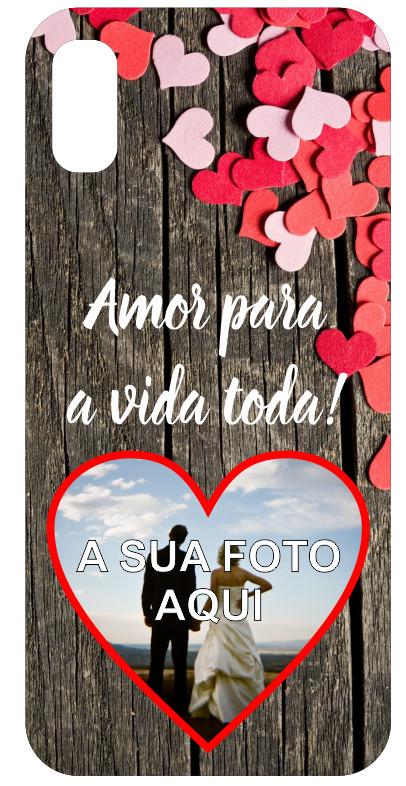 Imagens Capa de telemóvel - Amor para a vida toda! - Com foto